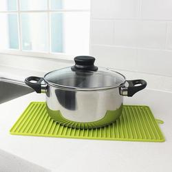 Silicone Dish Drying Mat Toxic Free Easy Clean Dishwasher Safe Heat Resistant Trivet for Kitchen Countertop Sink