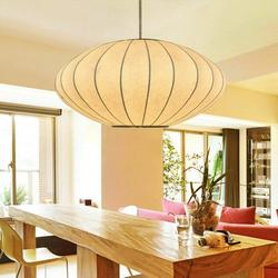 Modern Fabric Bubble Pendant Lamp Bubble Chandelier Hanging Light Chandelier Light Fixture Withe Round Lantern Restaurant Chandelier Pendant for Living Room Kitchen Coffee Shop 110V/60Hz