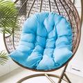 NKTIER Swing Hanging Basket Seat Cushion, Hammock Chair Cushions Hanging Basket Seat Cushion Swing Chair Cushion For Indoor/ Outdoor Patio Garden Swing Chair Cushion Seat Pads