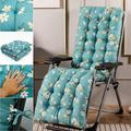 Willstar Sun Lounger Cushions, Replacement Garden Recliner Lounge Pad Chair Cushion Padded Bench Cushions for Travel Holiday Window Cushion Garden Indoor Outdoor