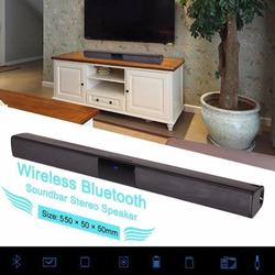 Musuos 2/4 Speakers TV Bluetooth Audio Sound Bar Home Theater 3D Surround Subwoofer