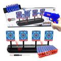 Running Shooting Targets, Foam Dart Toy, Electronic Auto Reset Digital Scoring Targets ,Outdoor Games Interactive Sports Toys for Kids Boys Girls
