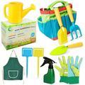 Garden tools for children, garden toy set, toy tools for the beach/garden, garden tool set outdoors, kids gardening tools, nursery watering can, watering can for children