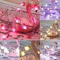 Besufy LED String Lights 1.5/3/5m Love Heart LED Fairy String Light Garland Christmas Wedding Party Decor,Red 1.5M