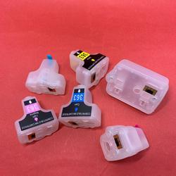 YOTAT – cartouche d'encre rechargeable vide, 6 pièces, pour HP363 HP 363 XL pour HP Photosmart C5180