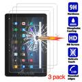 Protecteur d'écran pour Amazon Fire HD 10 2021, Film de protection pour tablette, en verre trempé