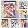 Anime Affiches Yuru Youri Anime Manga HD Imprimer Poster Mural Peinture Sur Toile Décoration Murale