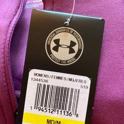 Under Armour Jackets & Coats | Brand New Under Armour Jacket. Medium. | Color: Purple | Size: M