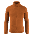Men Winter Thick Warm Turtleneck Sweaters Slim Fit Knitted Pure Color Pullover Knitwear Double Collar Sweater