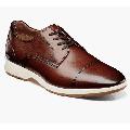 Florsheim Transit Cap Toe Oxford Men's Casual Walking Shoes Cognac 15189-221