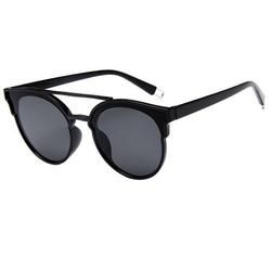 Double Bridge Round Sunglasses Round Sunglasses for Women Men Classic Vintage Retro Designer Style