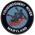 Applique Outdoors Rafting The Youghio River Theme Iron/Sew On Decorative Patch Funny Saying Biker Emblem