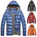 Men's cotton coat new thick winter padded cotton padded men's coat large size fat coat down coat