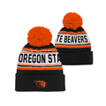 Outerstuff NCAA Youth Boys (8-20) Oregon State Beavers Jacquard Knit Hat with Pom