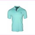 Polo Ralph Lauren Men's Classic Fit Jersey Polo Shirt Bayside Green Sz XL