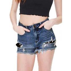 Women's Summer Shorts Denim Jean Shorts High Rise Stretch Casual Beach Jeans Pants