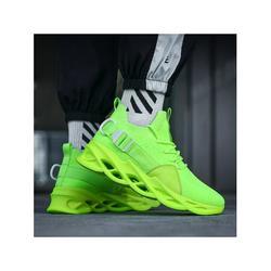 Woobling Women Men Flying Weaving Cloth Shoes Fashion Sneakers Low Top Tennis Shoes Lace up Casual Walking Shoes