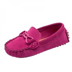 ZEROFEEL Kids Soft Loafers Children Flats Casual Boat Shoes Boys Girls Shoes Children Wedding Moccasins Leather Shoes