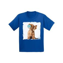 Awkward Styles Dog Outfit Cute Animal Collection Funny Puppy Dog with Gum Puppy Clothing Puppy Lovers Funny Gifts for Kids Puppy for Kids Dog Tshirt Puppy Dog Toddler Shirt Toddler T Shirt Kids