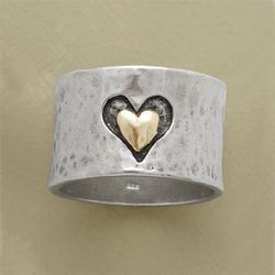 Women's 925 Sterling Silver Heart Ring Fashion Jewelry Size 5-11