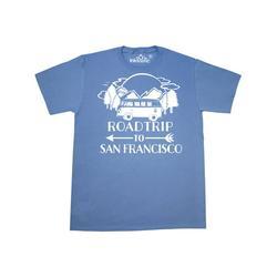Inktastic Road Trip To San Francisco Adult T-Shirt Male Columbia Blue L