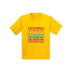 Awkward Styles California Star Youth Shirt San Francisco California State T shirt for Boys I Love California California State T shirt for Girls Kids Gifts California Lover Kids Tshirt