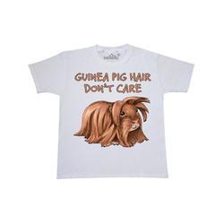 Inktastic Guinea Pig Hair Don't Care Child Short Sleeve T-Shirt Unisex