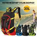 TOMSHOO 20L Water-resistant Bicycle Bike Cycling Backpack Bag Pack Outdoor Sports Riding Travel Camping Hiking Backpack Daypack with Rain Cover Helmet Cover