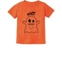 Tstars Boys Unisex Halloween Party Shirt Kids Gift for Baby Infant Baby Boo Ghost Costume Cute Easy Halloween Day of the Dead Spooky Trick or Treat Funny Gifts Toddler Infant Kids Baby Shower T Shirt
