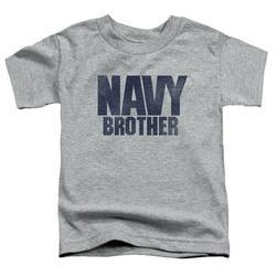 Navy - Brother - Toddler Short Sleeve Shirt - 3T