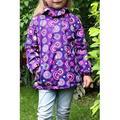 Kids Girls Warm Velvet Long Sleeved Casual Jacket