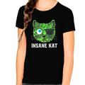 Crazy Cat Shirt - Cute Cat Shirts for Girls - Cat Gifts for Girls - Kids Cat Lover Shirts