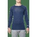 THERMOWAVE - MERINO WARM / Mens Merino Wool Thermal Shirt / SARGASSO SEA - Large