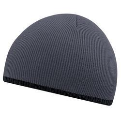 Beechfield Unisex Two-Tone Knitted Winter Beanie Hat