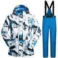 Ski Suit Windproof Waterproof Warm Outdoor Ski Jacket for Men