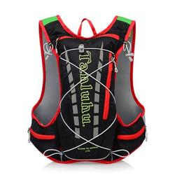 JuLam 12L Outdoor Lightweight Travel Running Hiking Climbing Backpack Camping Sports Bag 1.5L Hydration Backpack