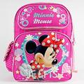 Backpack - Disney - Minnie Mouse Sparkle Girls Large School Bag New 638801