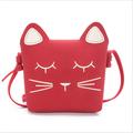 Little Girls Purses Red Cute Cat Shoulder Crossbody Bag for Kids,Toddler,Girls