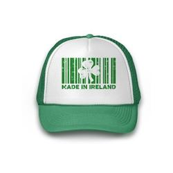 Awkward Styles Made in Ireland Trucker Hat Saint Paddy Gifts for Him and Her St Patrick's Day Hat Irish Party Lucky Charm Green Hat for St. Patrick's Day Party Proud Irish Ireland Trucker Hat Gift
