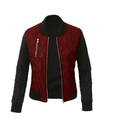 Kiapeise Autumn Winter Women Bomber Jacket Ladies Assorted color Ziper Jackets Casual Chic Quilted Coat Tops Plus Size