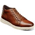 Men's Stacy Adams Harlow Cap Toe Mid Lace Up Casual Shoes Cognac 25406-221