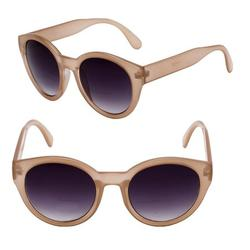 Womens Round Cat Eye Bifocal Sunglasses - 2 Pair Included with Soft Carrying Cases