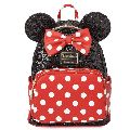 Disney Parks Minnie Sequin and Polka Dot Mini Backpack New with Tag