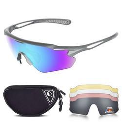 HUBO Sport Cycling Sunglasses, Anti-UV400 Sports Sunglasses for men and women