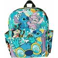 """Lilo & Sttich 12"""" Deluxe Oversize Print Daypack Bag backpack"""