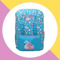 Smily Kiddos Fancy Backpack Light Blue Kids & School Backpack Backpack for Boys & Girls Backpacks for Teen Girls Backpack for Kids Backpack for Girl Stylish Kids for Bags
