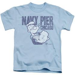 Power Rangers - Navy Pier - Juvenile Short Sleeve Shirt - 4