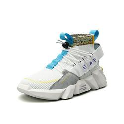 Audeban Fashion Mens Women Sneakers High Top Walking Socks Shoes Sport Athletic Casual Shoe for Men
