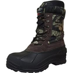 """Men's Winter Boots 10"""" Camouflage Thermolite Insulated Hunting Snow Shoes"""