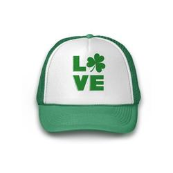 Awkward Styles Irish Shamrock Hat St. Patrick's Day Trucker Hat Irish Gifts St Patrick's Day Hat Irish Party Lucky Charm Green Hat for St. Patrick's Day Party Ireland Trucker Hat Baseball Cap Gifts